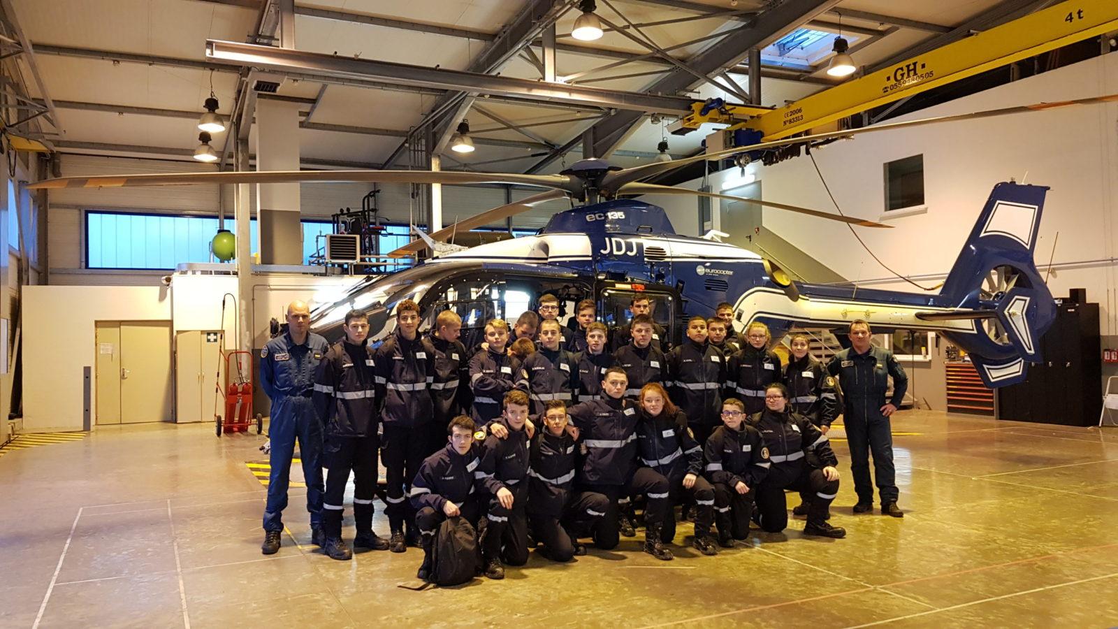 Hélicoptère de gendarmerie