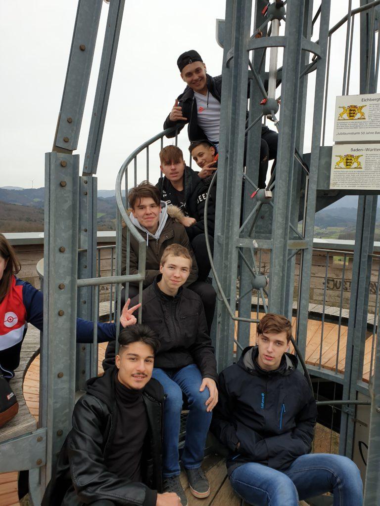 Visite de l'Eichbergturm à Emmendingen