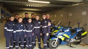 Les 2nde MS en visite au Groupement de Gendarmerie Nationale du Haut-Rhin