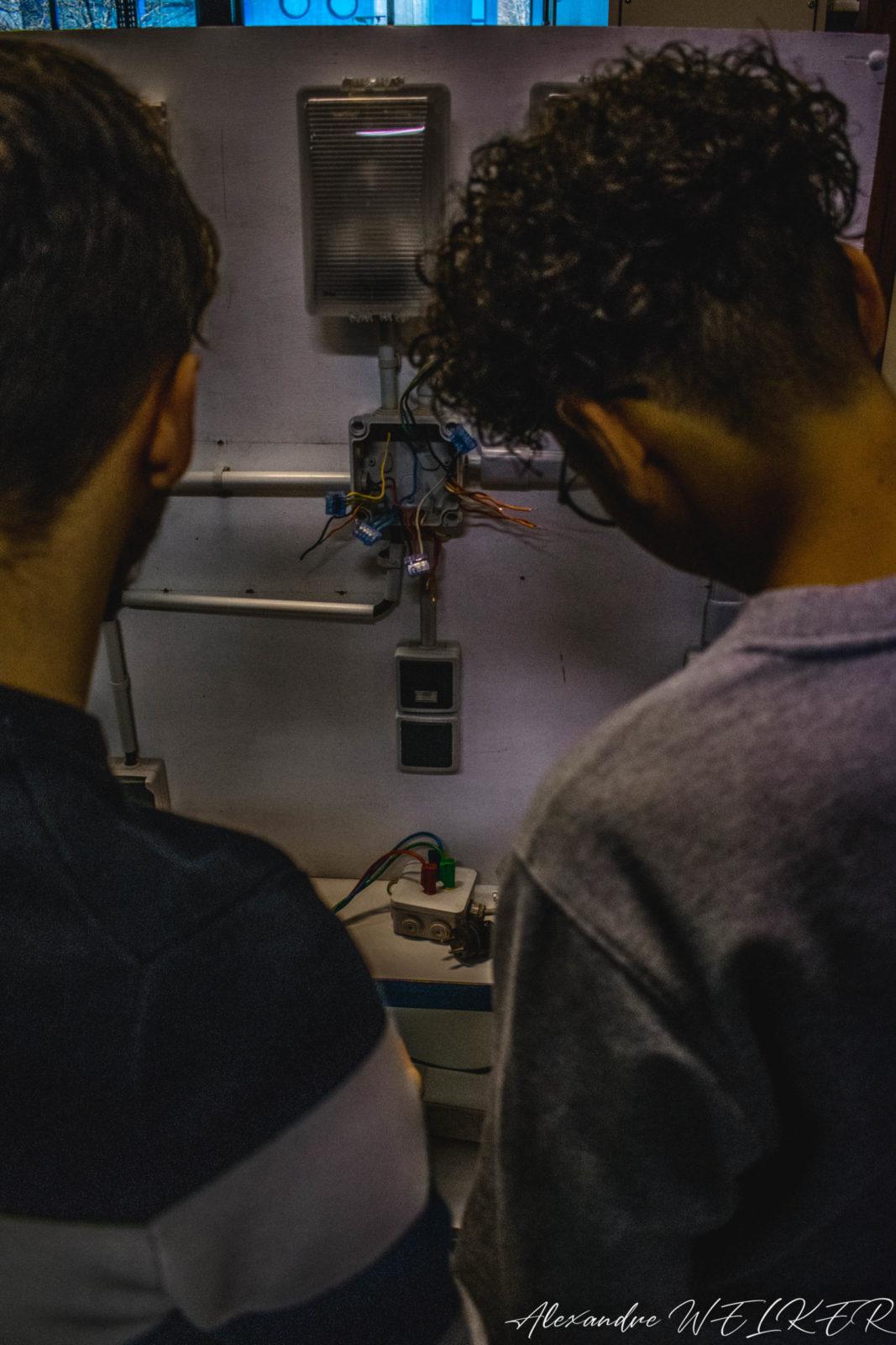 Montage d'un circuit électrique