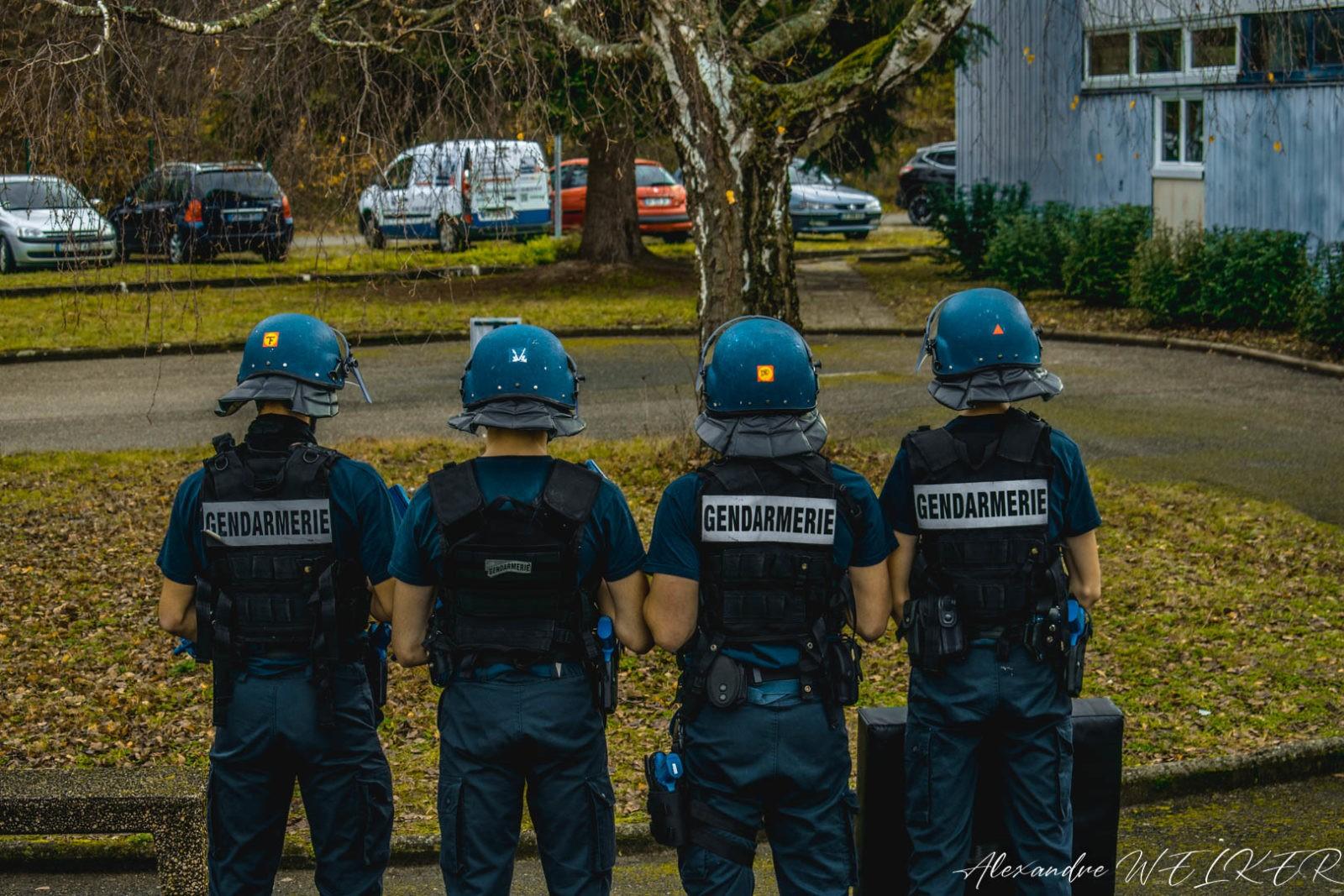 Futurs gendarmes ?