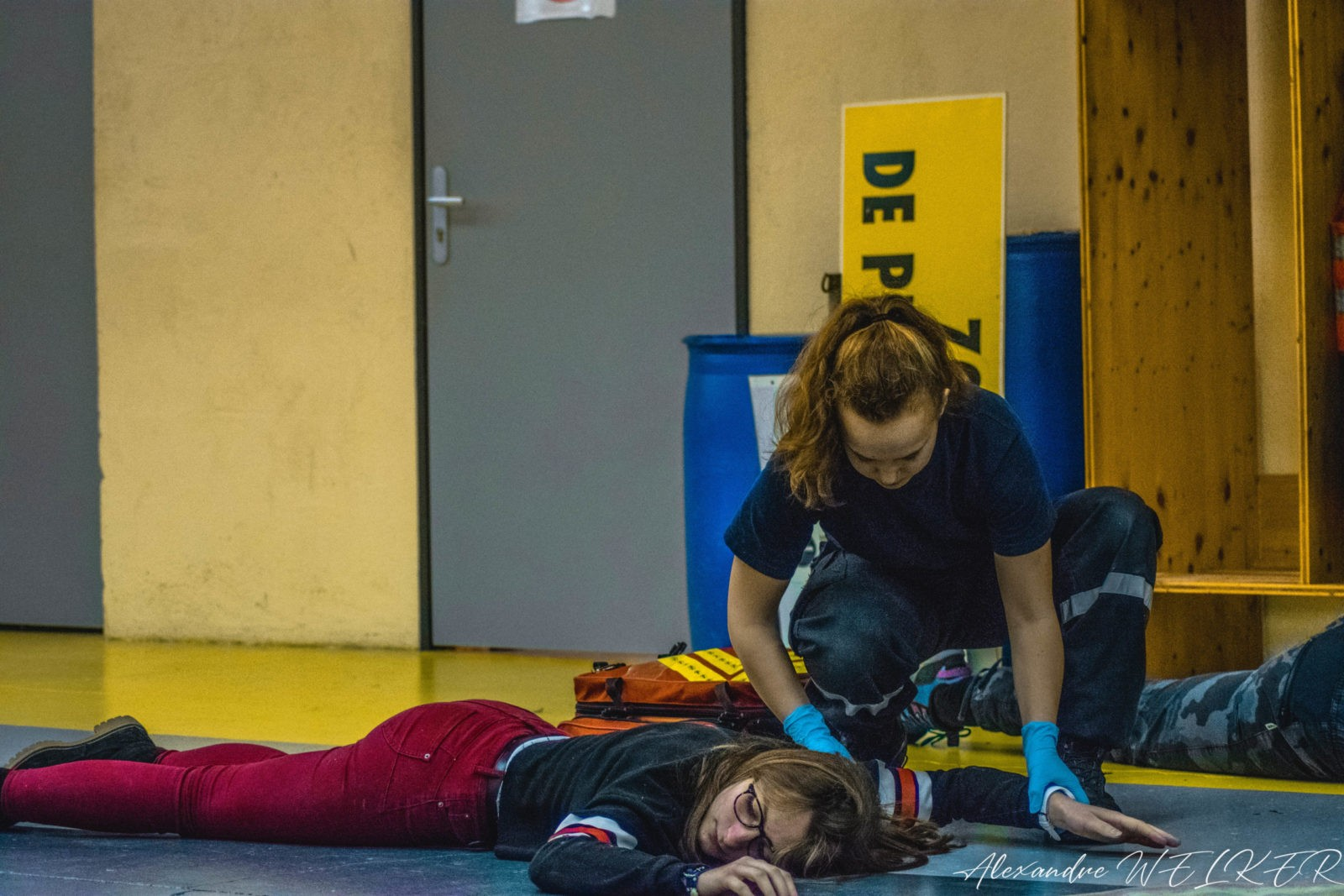 Exercice premiers secours
