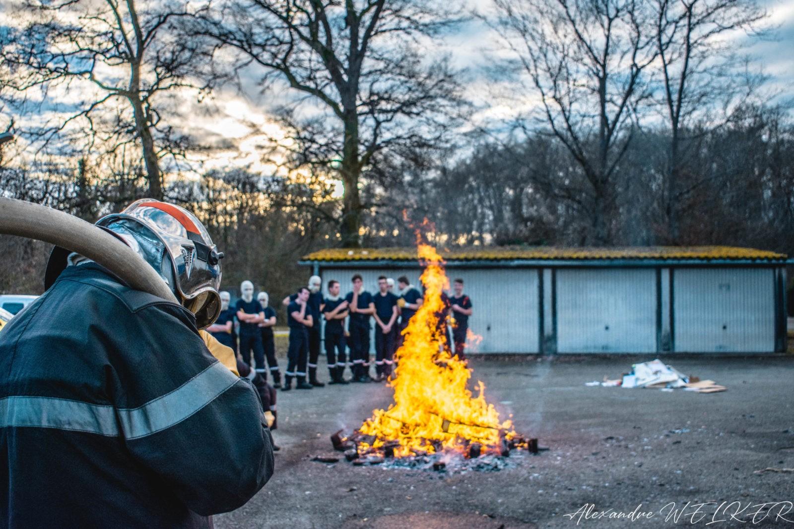 Exercice incendie