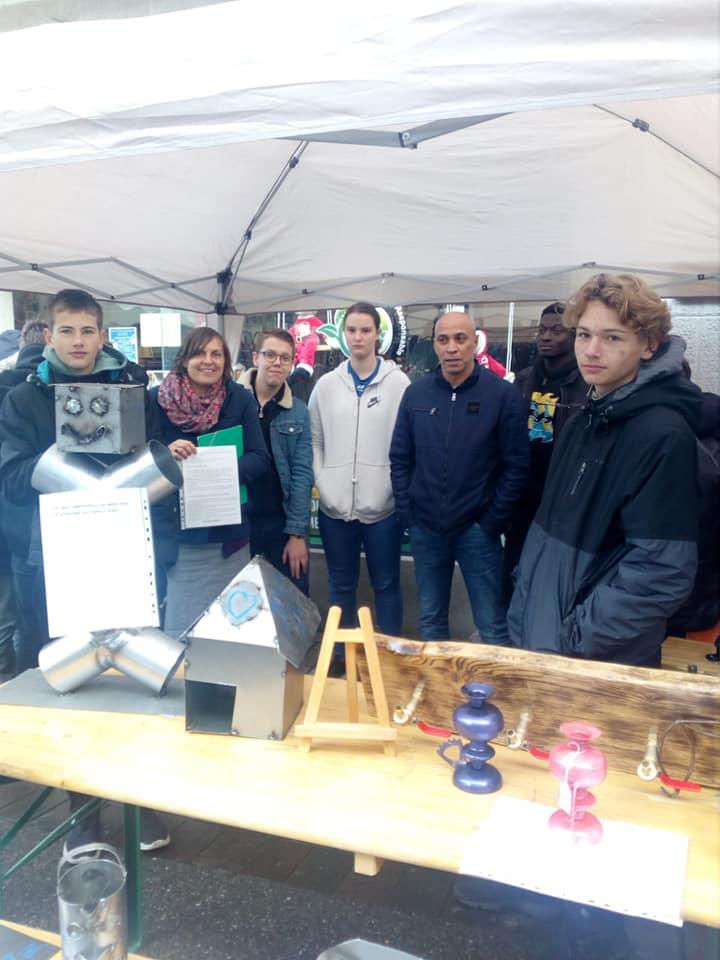 Expo/vente d'objets confectionnés par les élèves