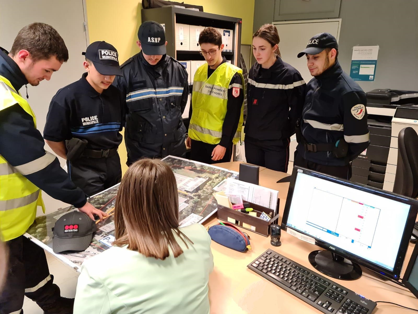 Simulation réunion d'équipe MOS